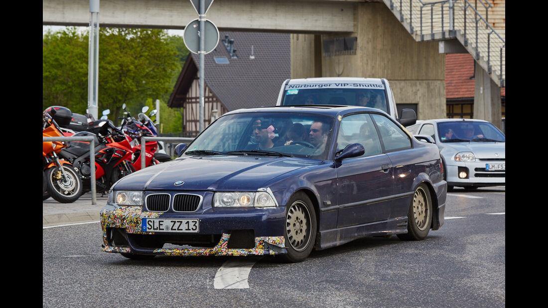 BMW 3er - Fan-Autos - 24h-Rennen Nürburgring 2015 - 14.5.2015