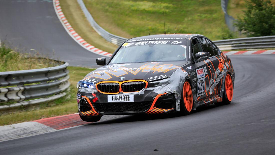 BMW 3er G20  - Startnummer #481 - Pixum CFN Team Adrenalin Motorsport - VT2 - NLS 2020 - Langstreckenmeisterschaft - Nürburgring - Nordschleife