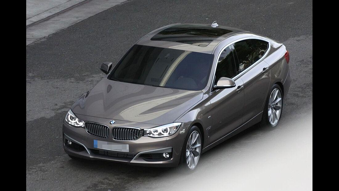 BMW 3er GT Erlkönig ungetarnt