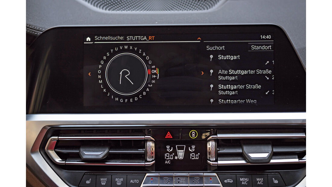 BMW 3er, Interieur