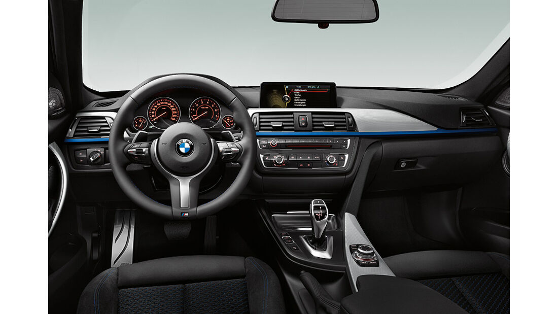 BMW 3er Limousine 2012, Innenraum