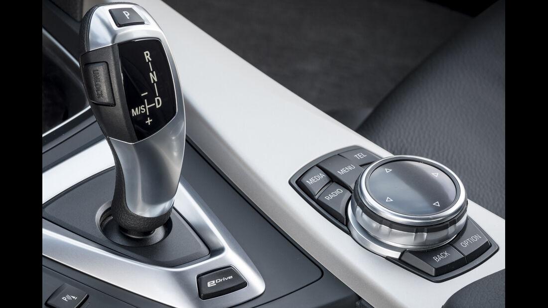 BMW 3er Plug-in-Hybrid, ams, Fahrbericht, iDrive