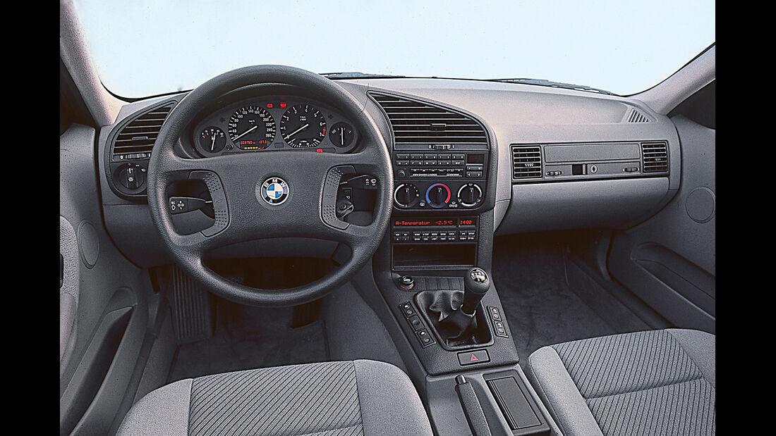 BMW 3er-Reihe E36, Cockpit