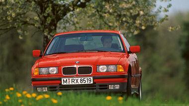 BMW 3er-Reihe E36, Frontansicht