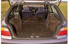BMW 3er-Reihe E36, Kofferraum