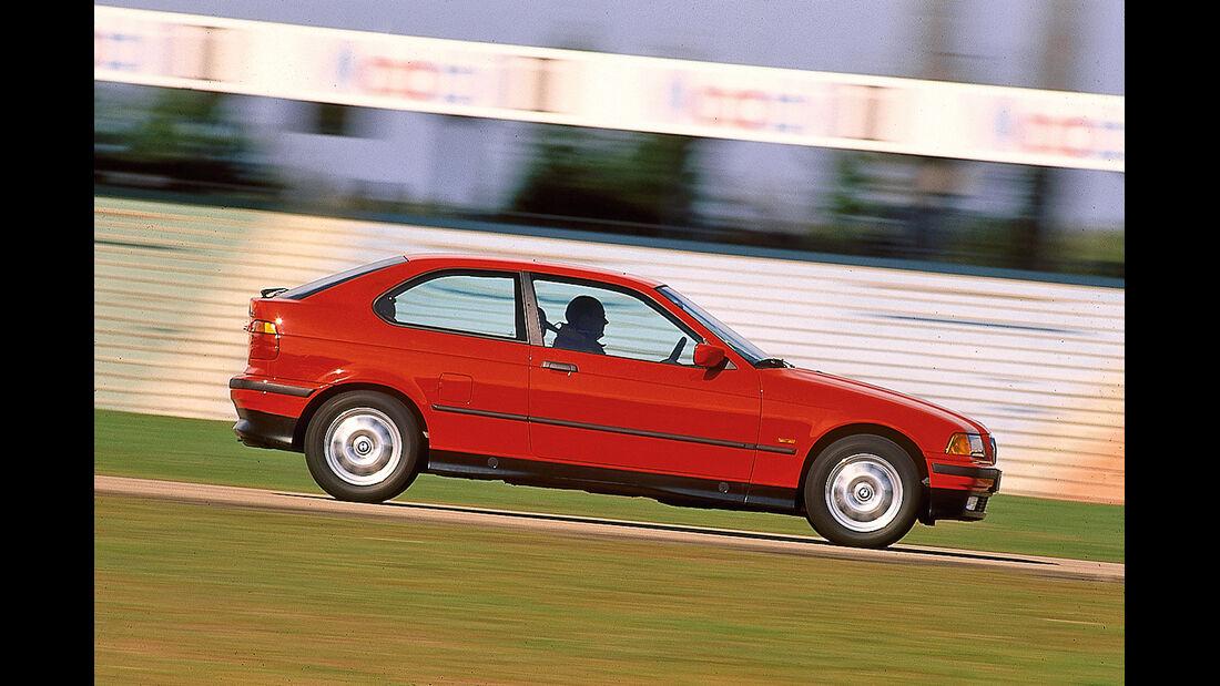 BMW 3er-Reihe E36, Seitenansicht