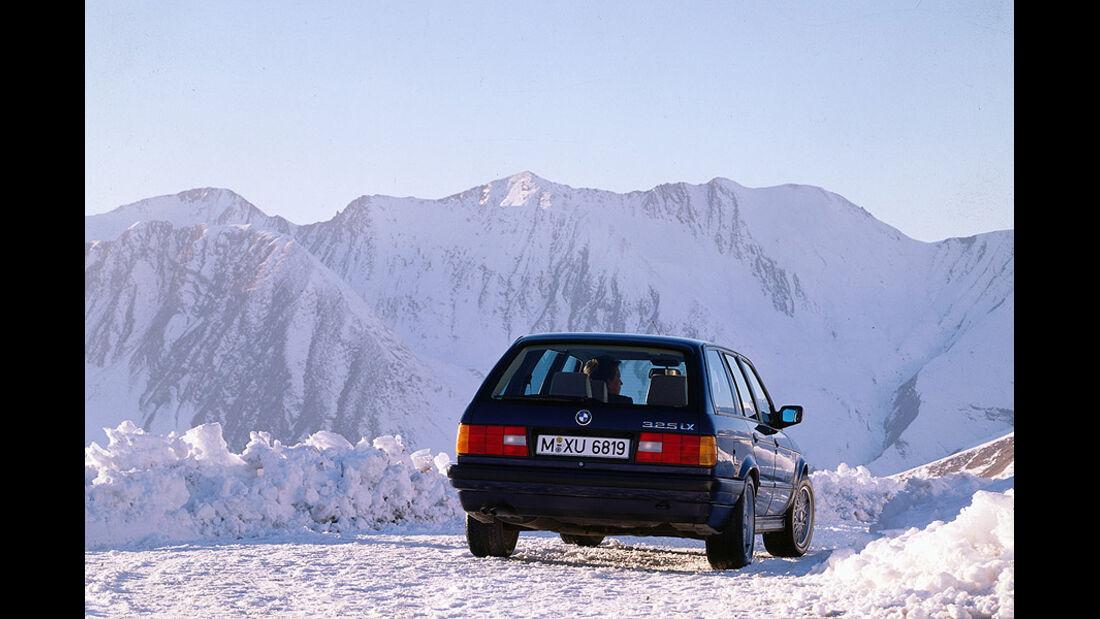 BMW 3er Touring - E30 - Heckansicht