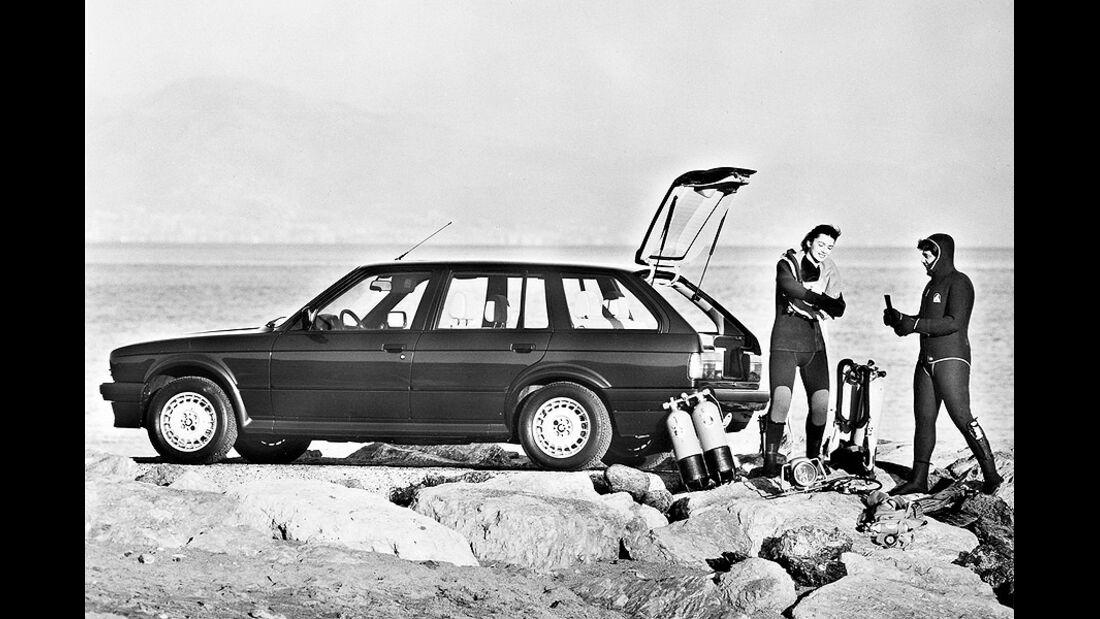 BMW 3er Touring - E30 - Seitenansicht