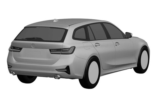 BMW 3er Touring G21 Patentamtbilder