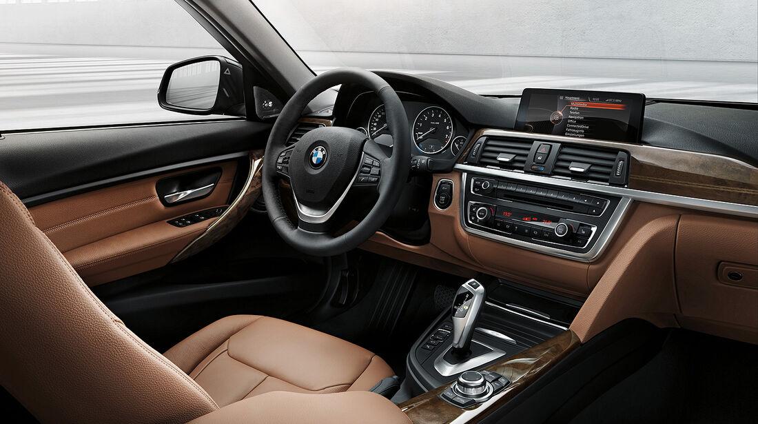 BMW 3er Touring, Innenraum, Cockpit