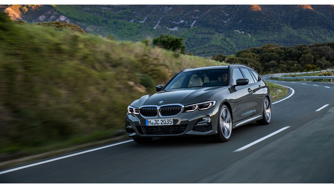BMW 3er Touring Mopf Herbst 2020