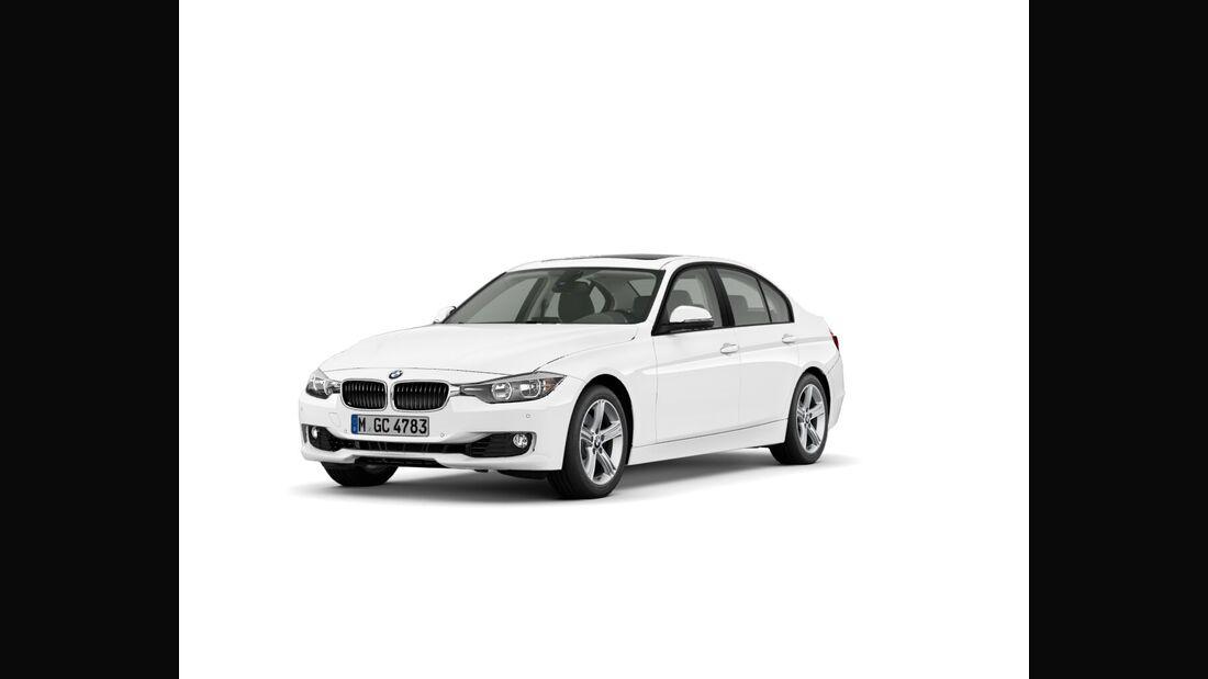 BMW 3er im Konfigurator, Basis