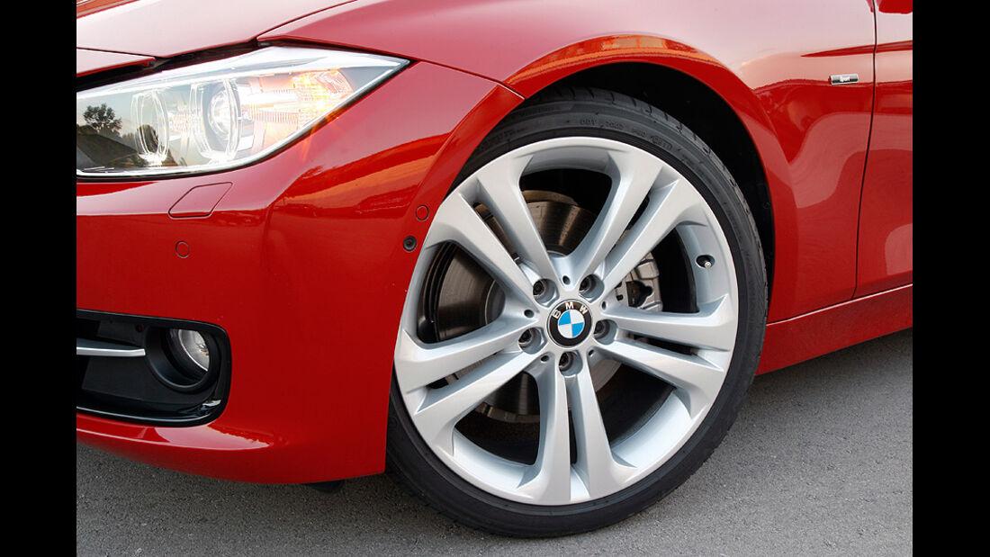 BMW 3er im Konfigurator, Felge