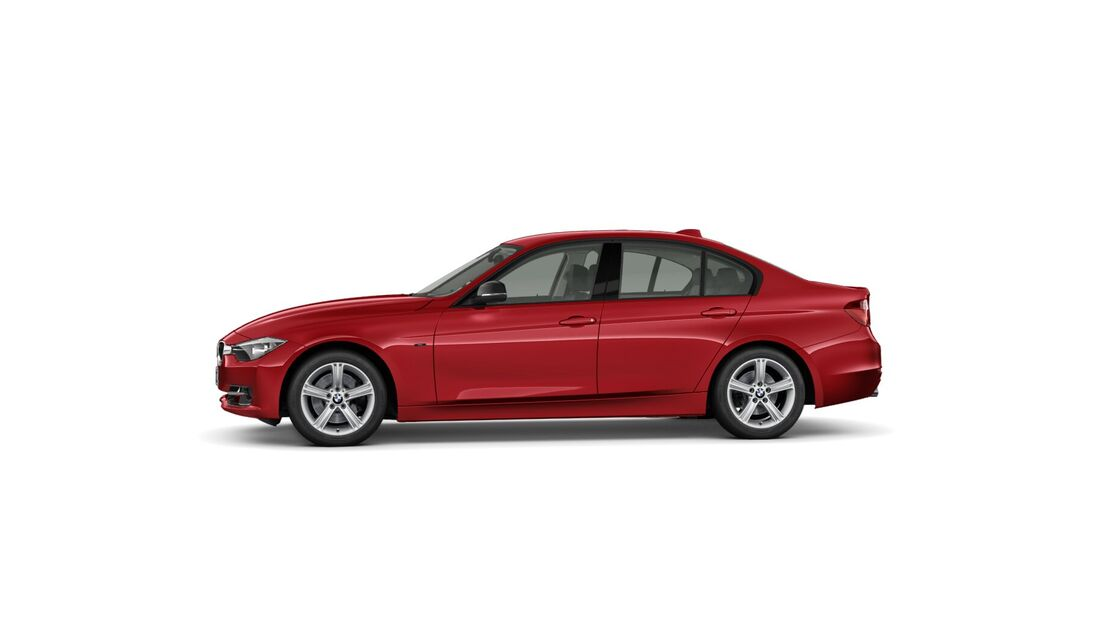 BMW 3er im Konfigurator, Felgen