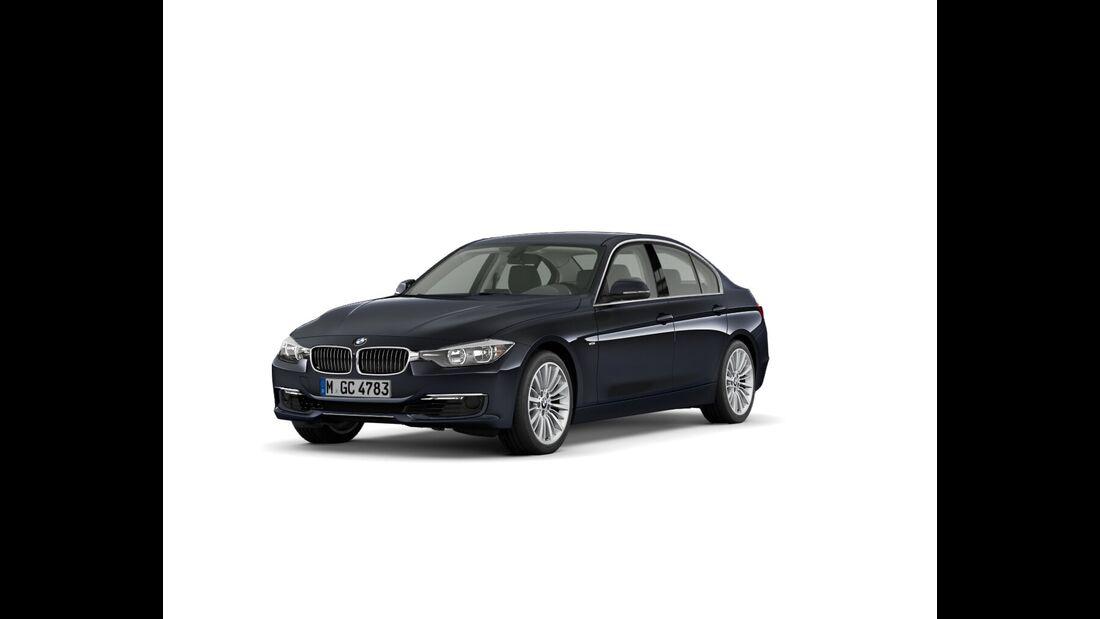 BMW 3er im Konfigurator, Luxury Line