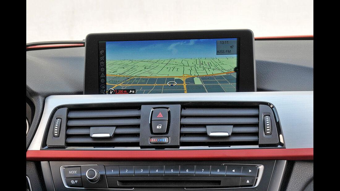BMW 3er im Konfigurator, Navigationssystem