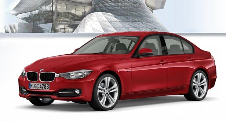 BMW 3er im Konfigurator, Sport Line