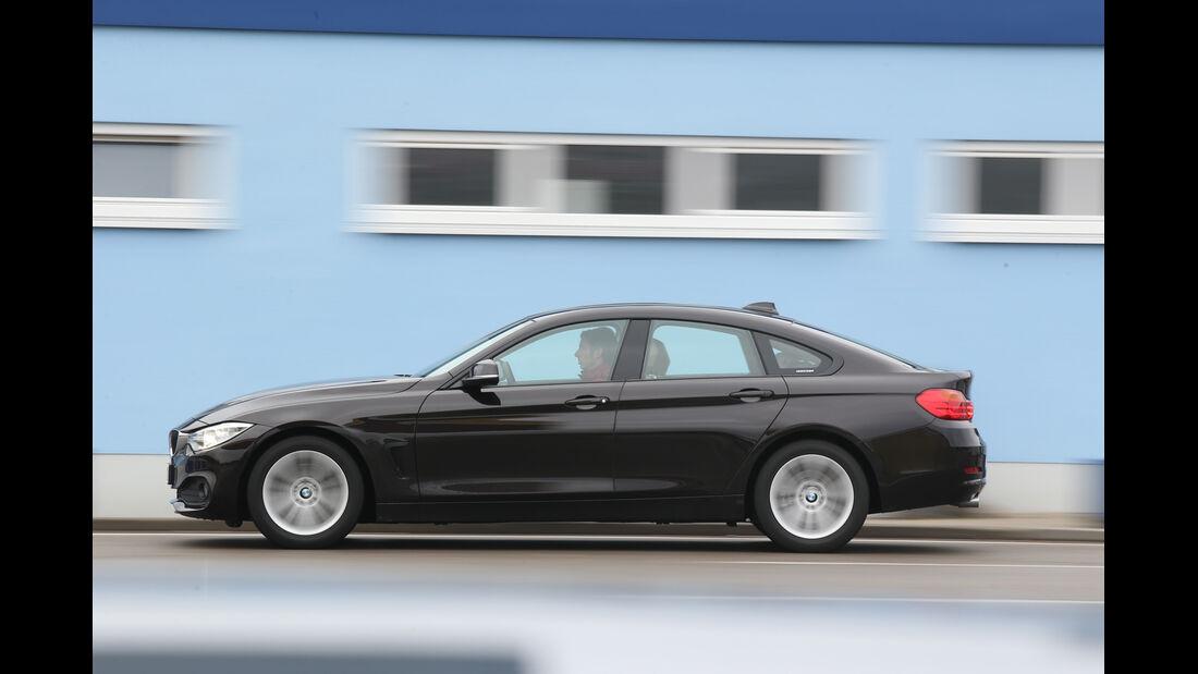 BMW 418d Gran Coupé, Seitenansicht