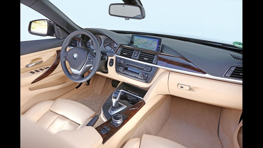 BMW 420d Cabrio, Cockpit