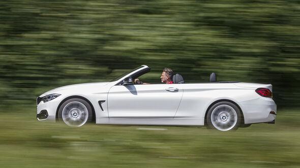 BMW 420d Cabrio, Exterieur