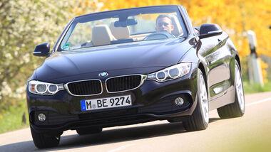 BMW 420d Cabrio, Frontansicht