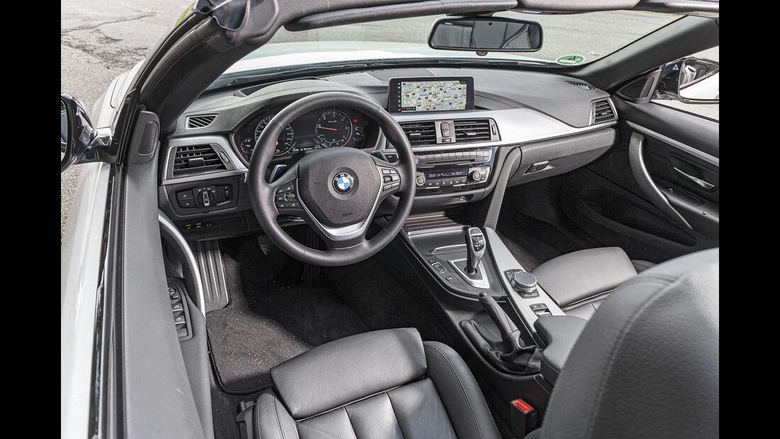 BMW 420d Cabrio, Interieur