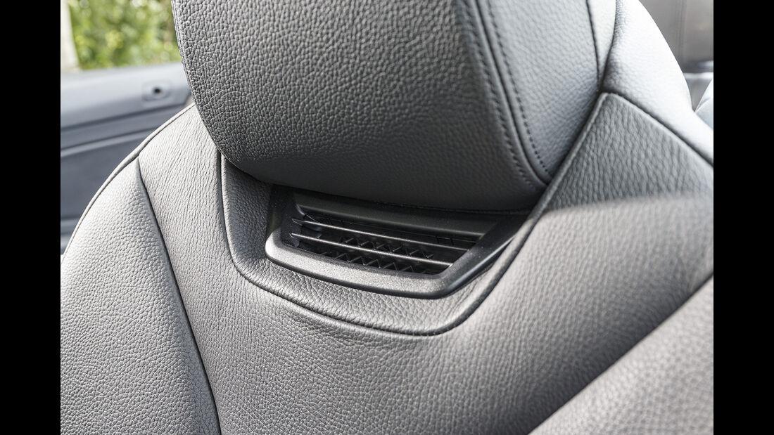 BMW 420d Cabrio, Nackenföhn
