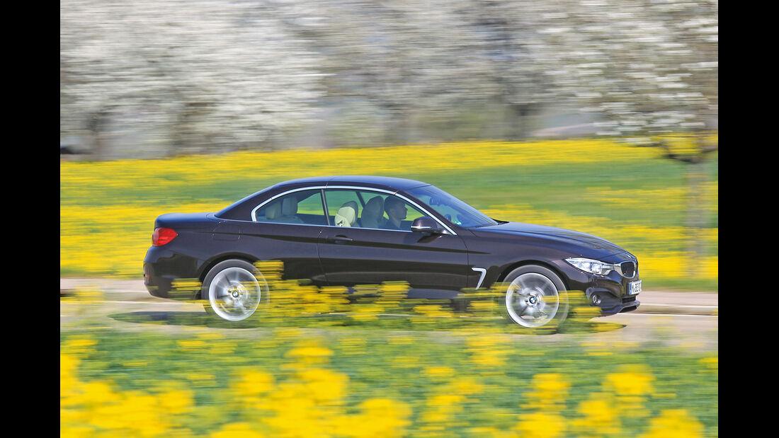 BMW 420d Cabrio, Seitenansicht