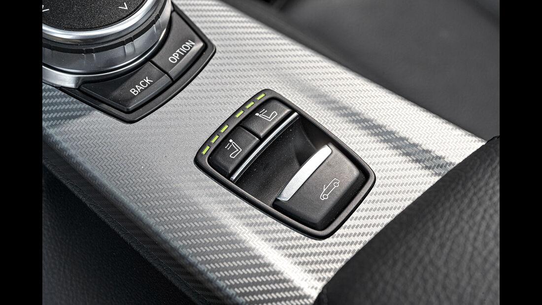 BMW 420d Cabrio, Verdeckschalter