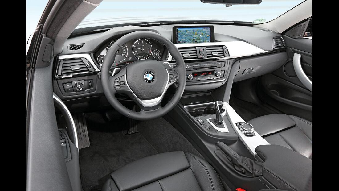 BMW 420d, Cockpit
