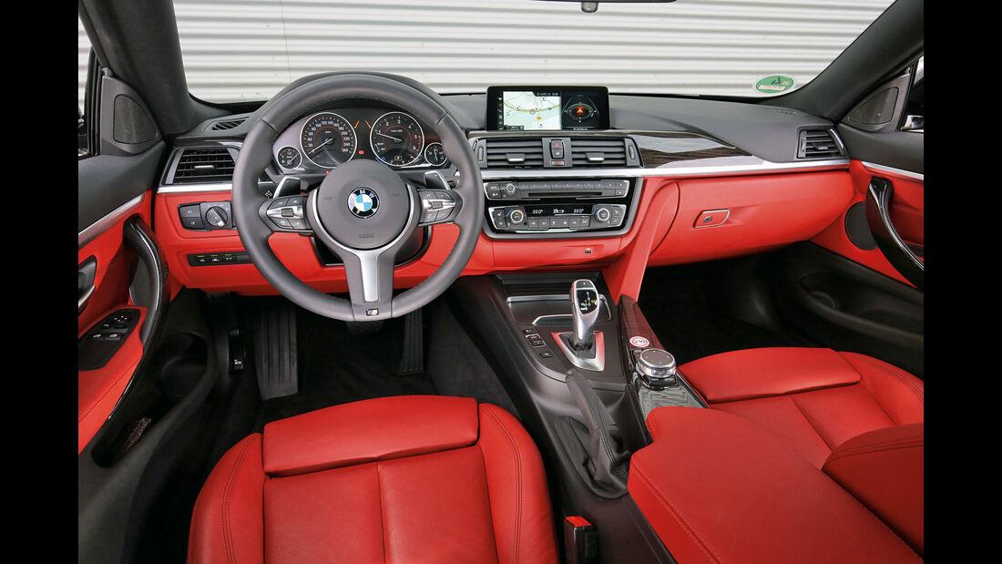 BMW 420d Coupé, Cockpit
