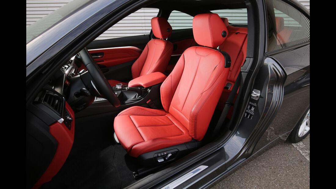 BMW 420d Coupé, Fahrersitz