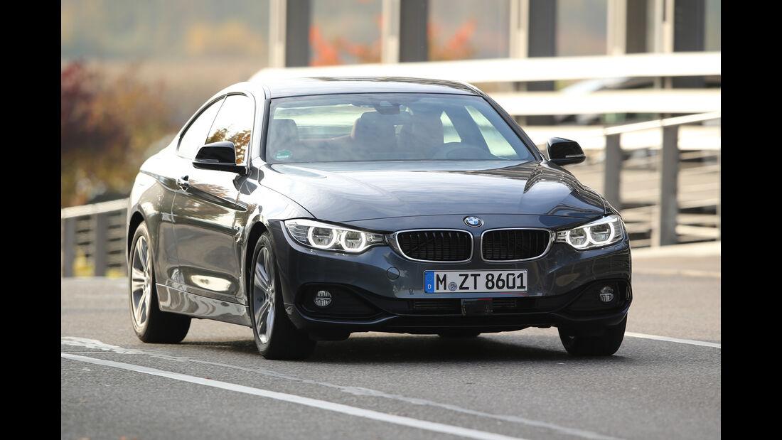 BMW 420d Coupé, Frontansicht