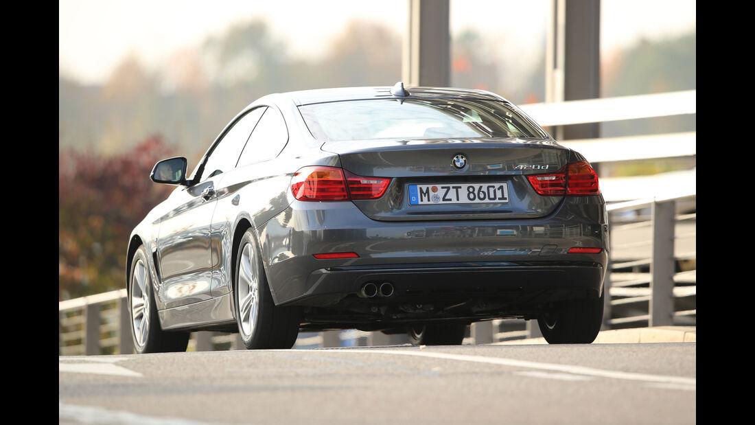 BMW 420d Coupé, Heckansicht