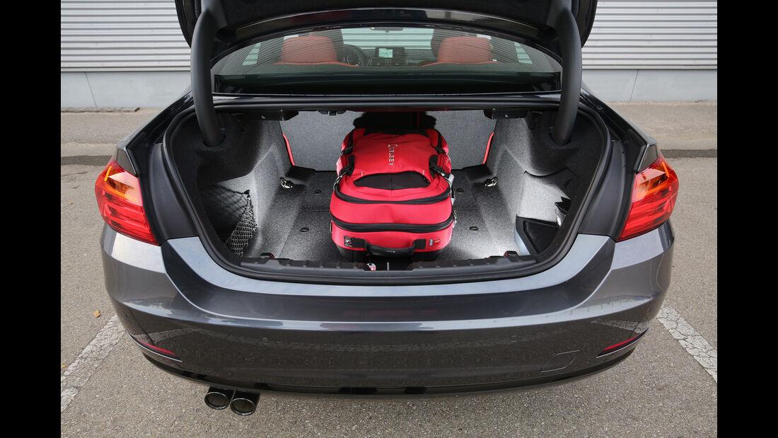 BMW 420d Coupé, Kofferraum