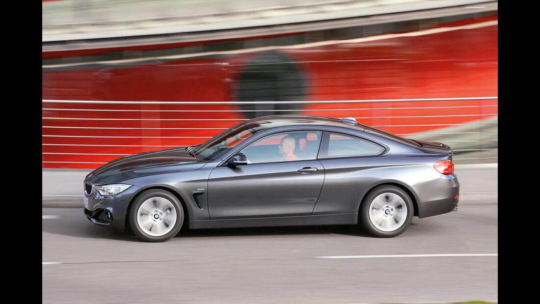 BMW 420d Coupé, Seitenansicht