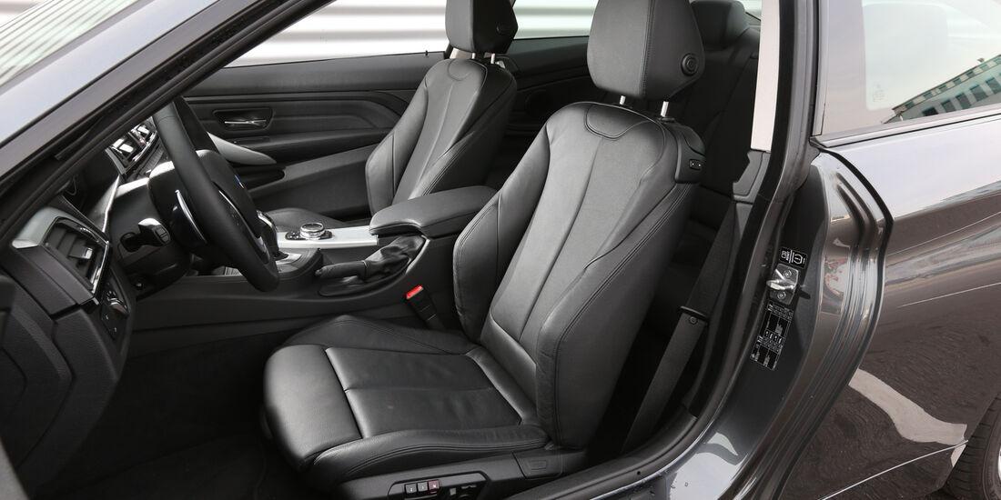 BMW 420d, Fahrersitz