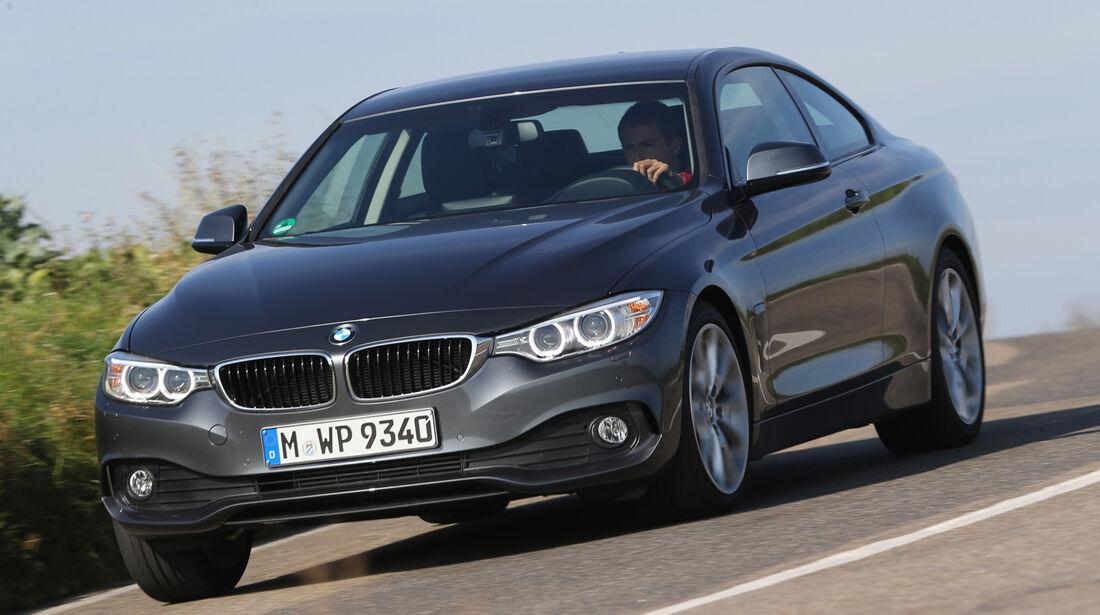 BMW 420d, Frontansicht