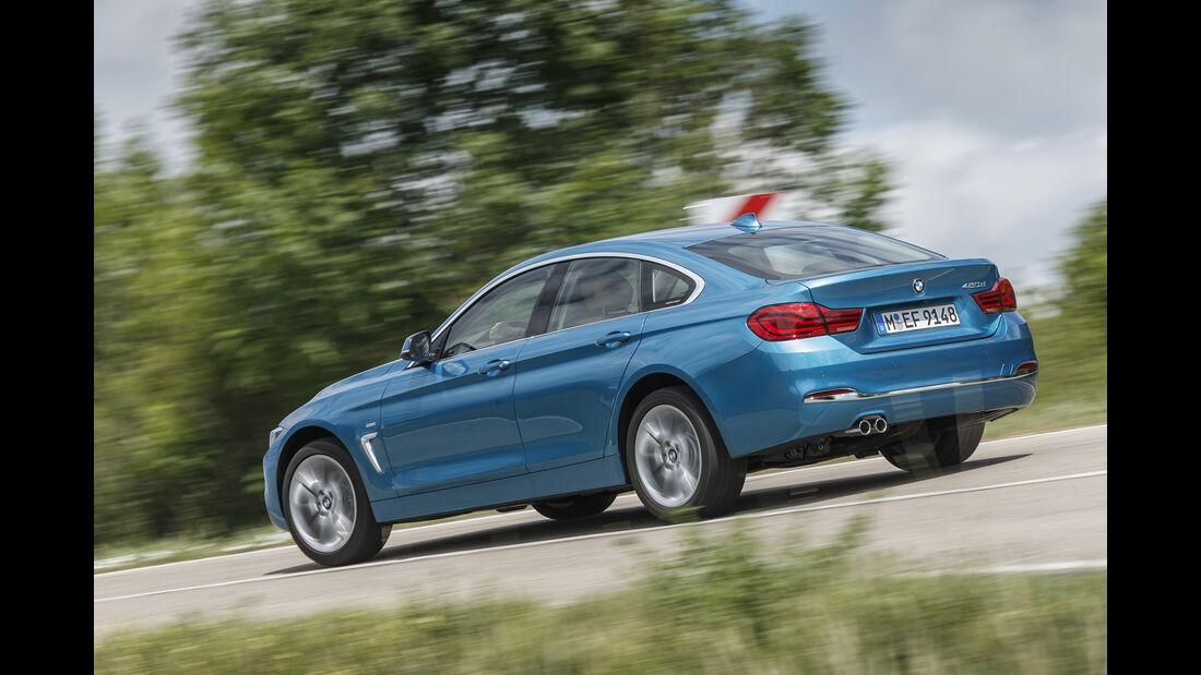 BMW 420d Heck