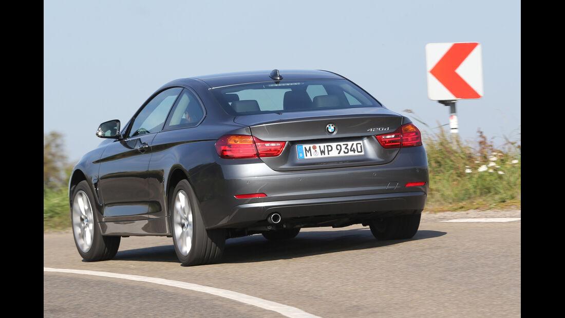 BMW 420d, Heckansicht