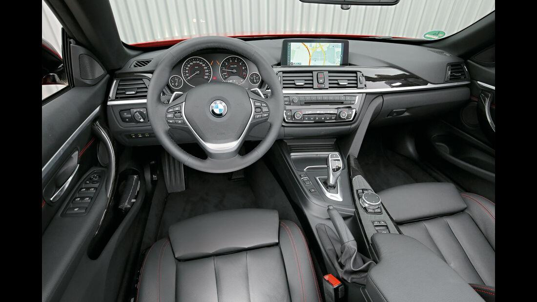 BMW 420i Cabrio, Cockpit