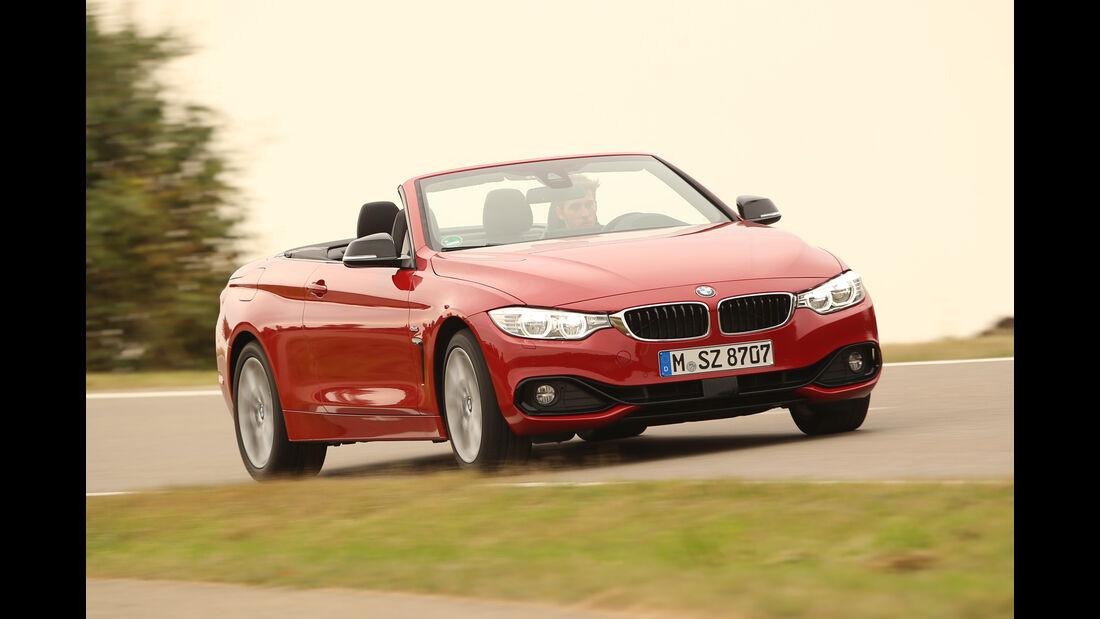 BMW 420i Cabrio, Frontansicht