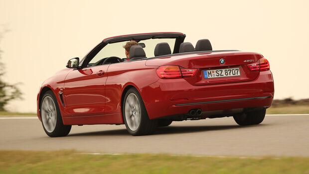 BMW 420i Cabrio, Heckansicht