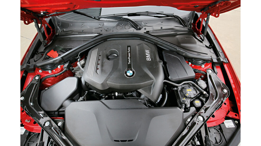BMW 420i Cabrio, Motor