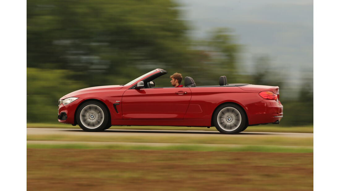 BMW 420i Cabrio, Seitenansicht