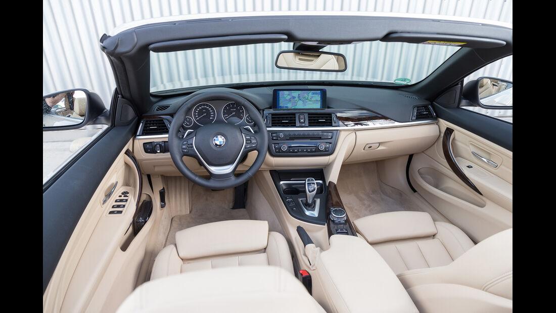 BMW 420i Cabriolet, Cockpit