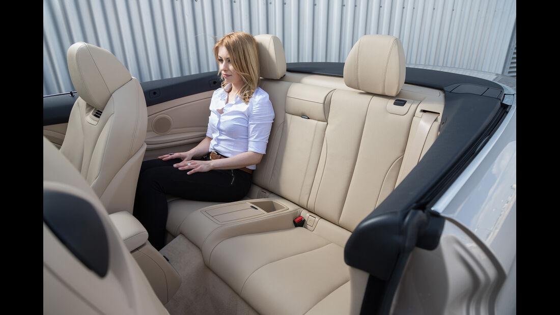 BMW 420i Cabriolet, Fondsitz