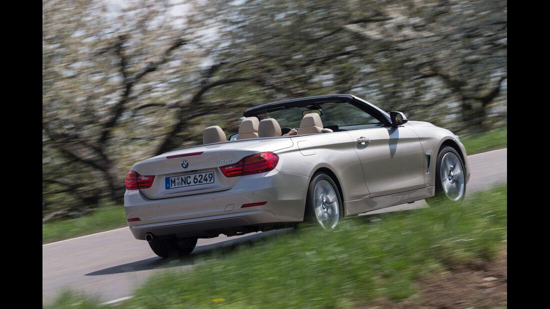 BMW 420i Cabriolet, Heckansicht