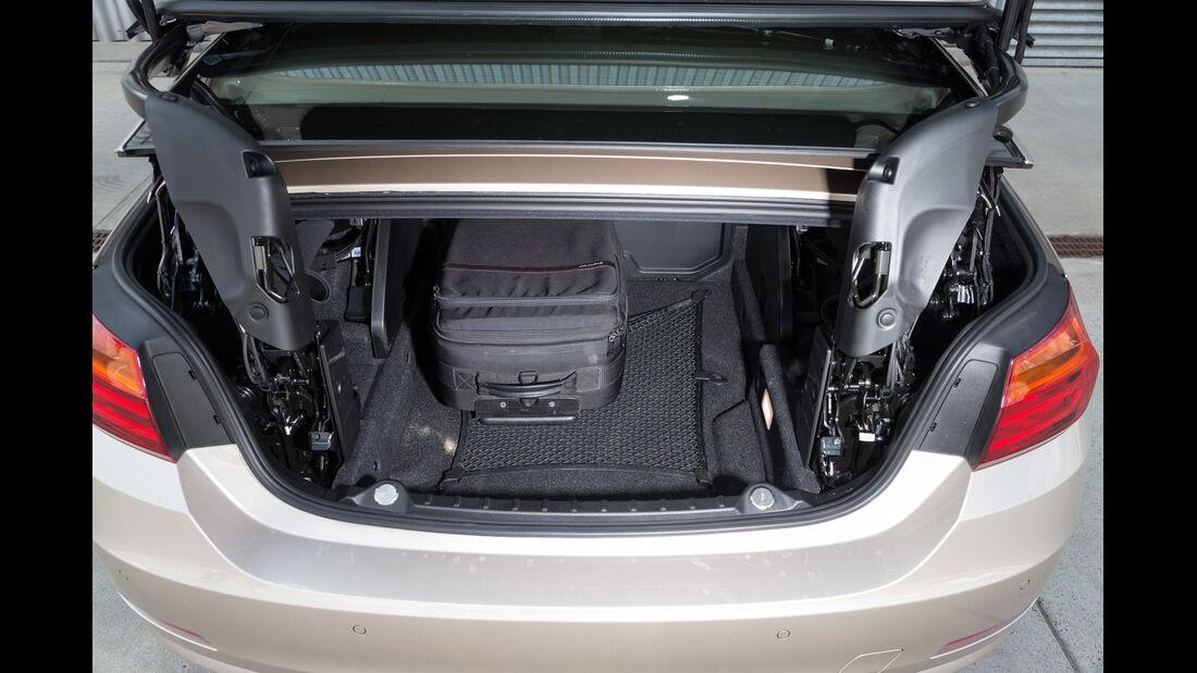 BMW 420i Cabriolet, Kofferraum