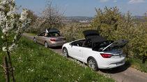 BMW 420i Cabriolet, Opel Cascada 1.6 Ecotec Turbo, Seitenansicht